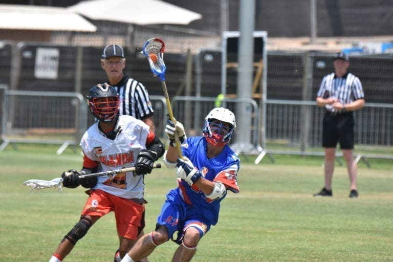top photos green group france uganda 2018 fil men's world lacrosse championships