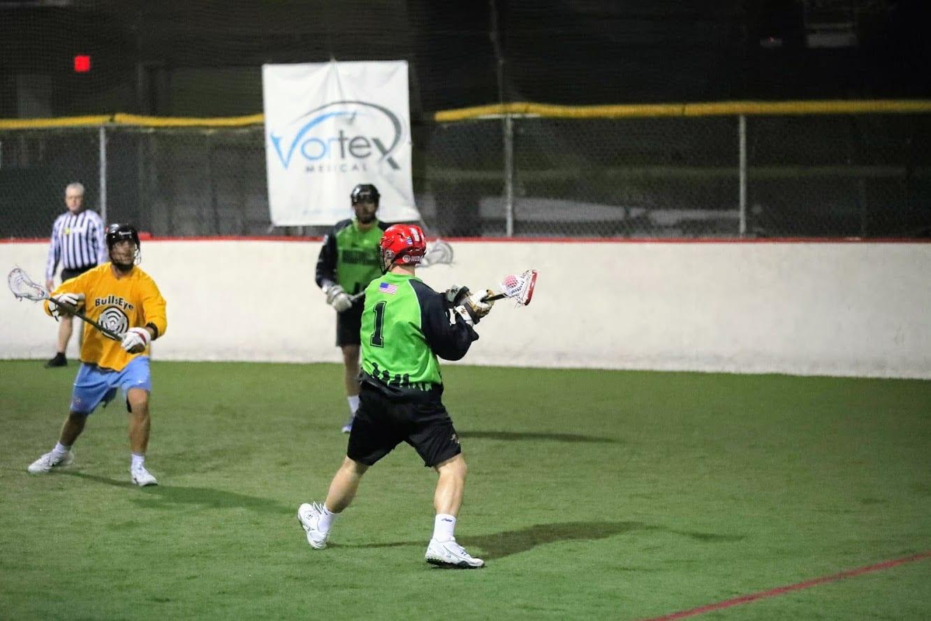 Kyle Denhoff bbll boston box lacrosse league minutement