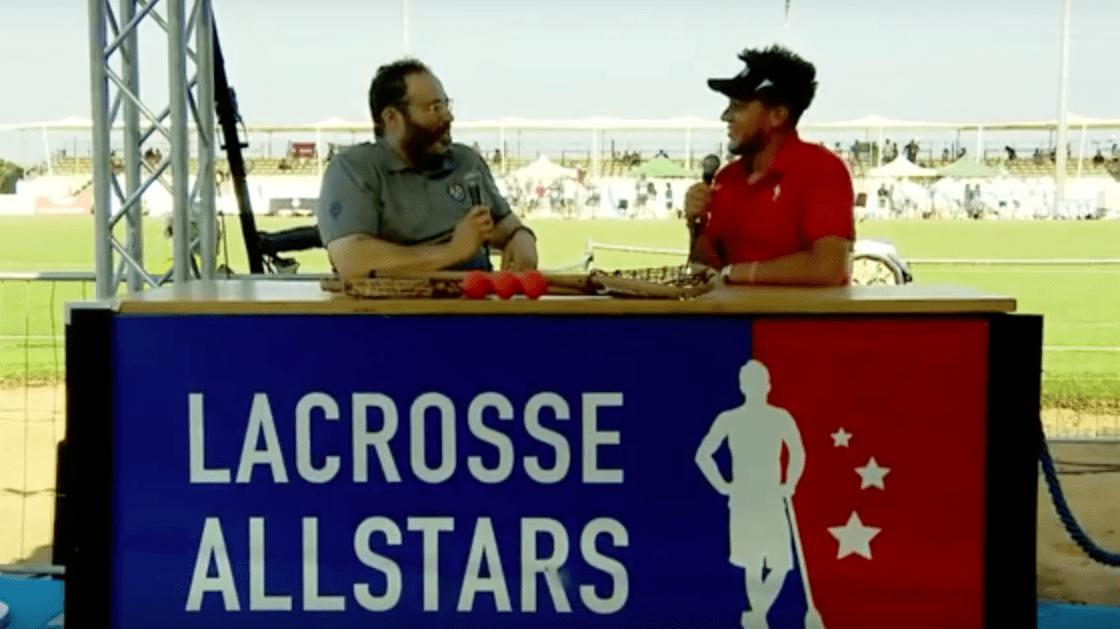churck jaffe 2018 FIL men's world lacrosse championships josh hawkins