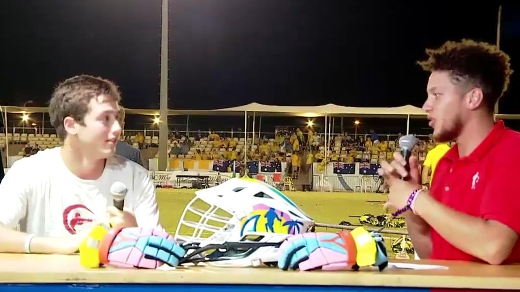 ege zeybeck 2018 fil mens world lacrosse championships israel