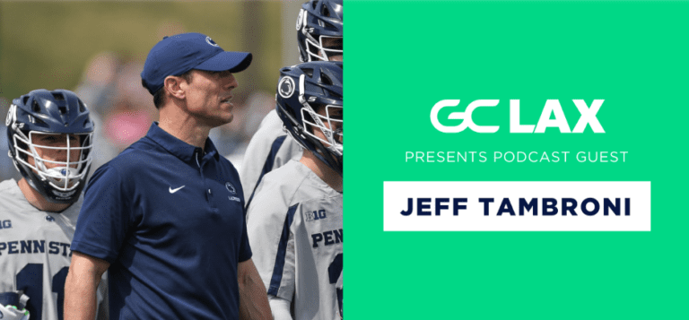 gamechanger podcast game changer lacrosse jeff tambroni