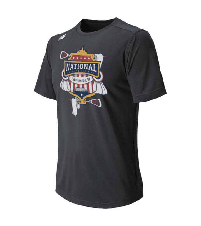 primetime lacrosse shop lake george invitational t shirt
