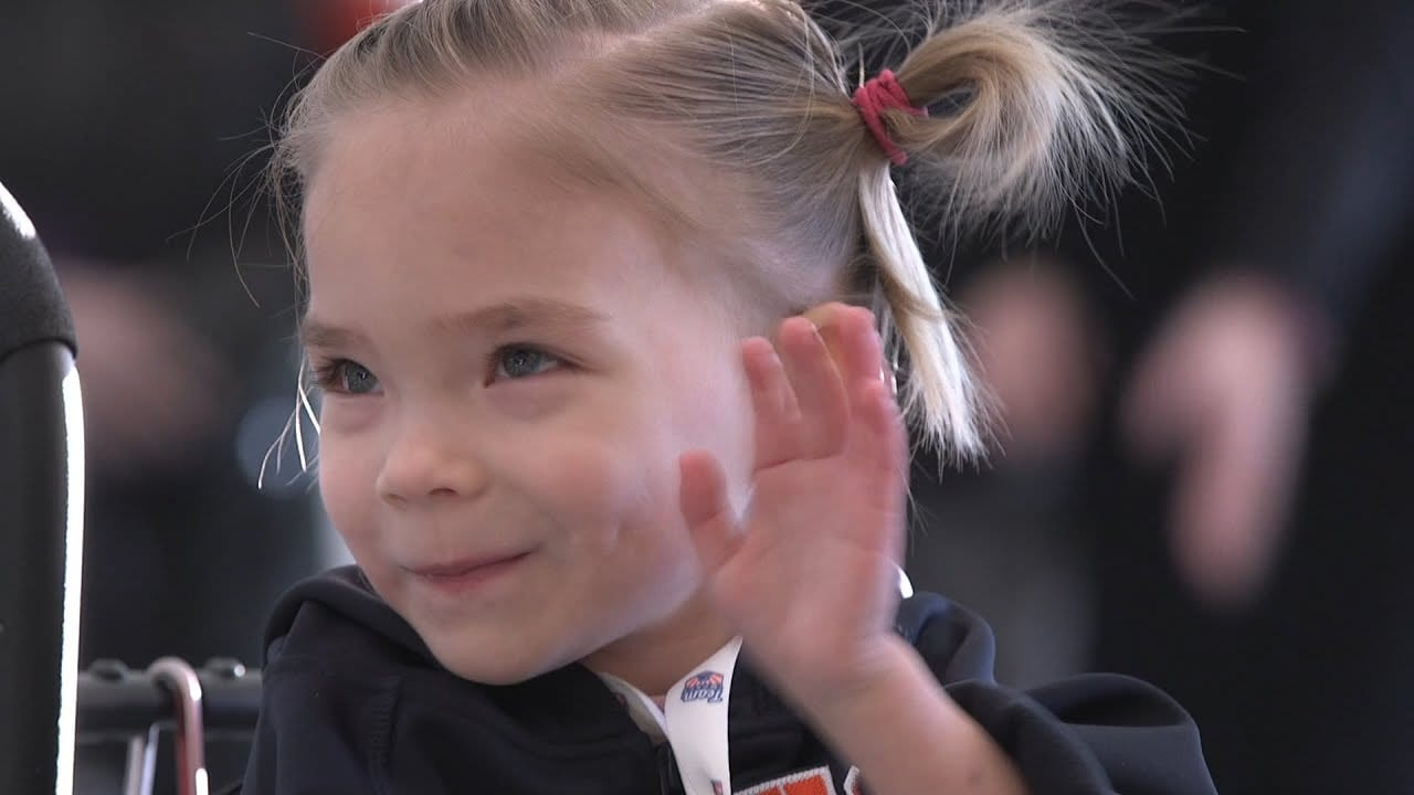 Syracuse Women's Team Signs 5 year-old
