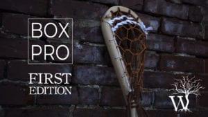 box lacrosse stick justin skaggs