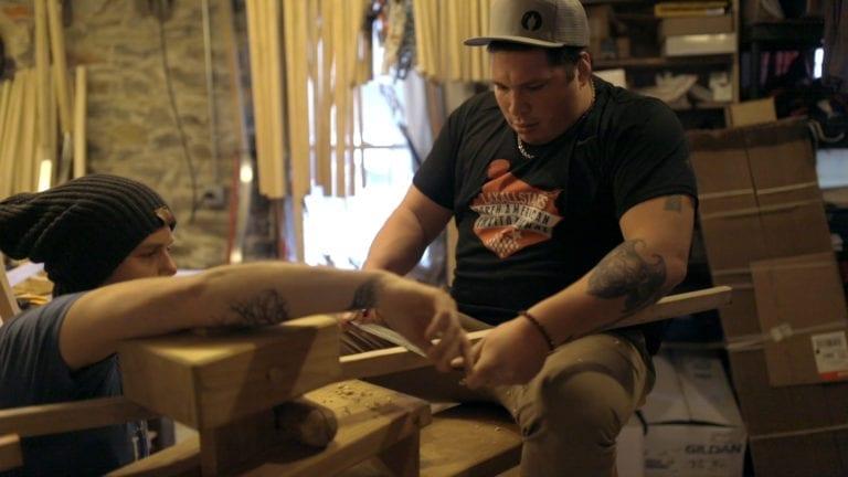 bill o'brien kong wood lacrosse sticks justin skaggs box pro