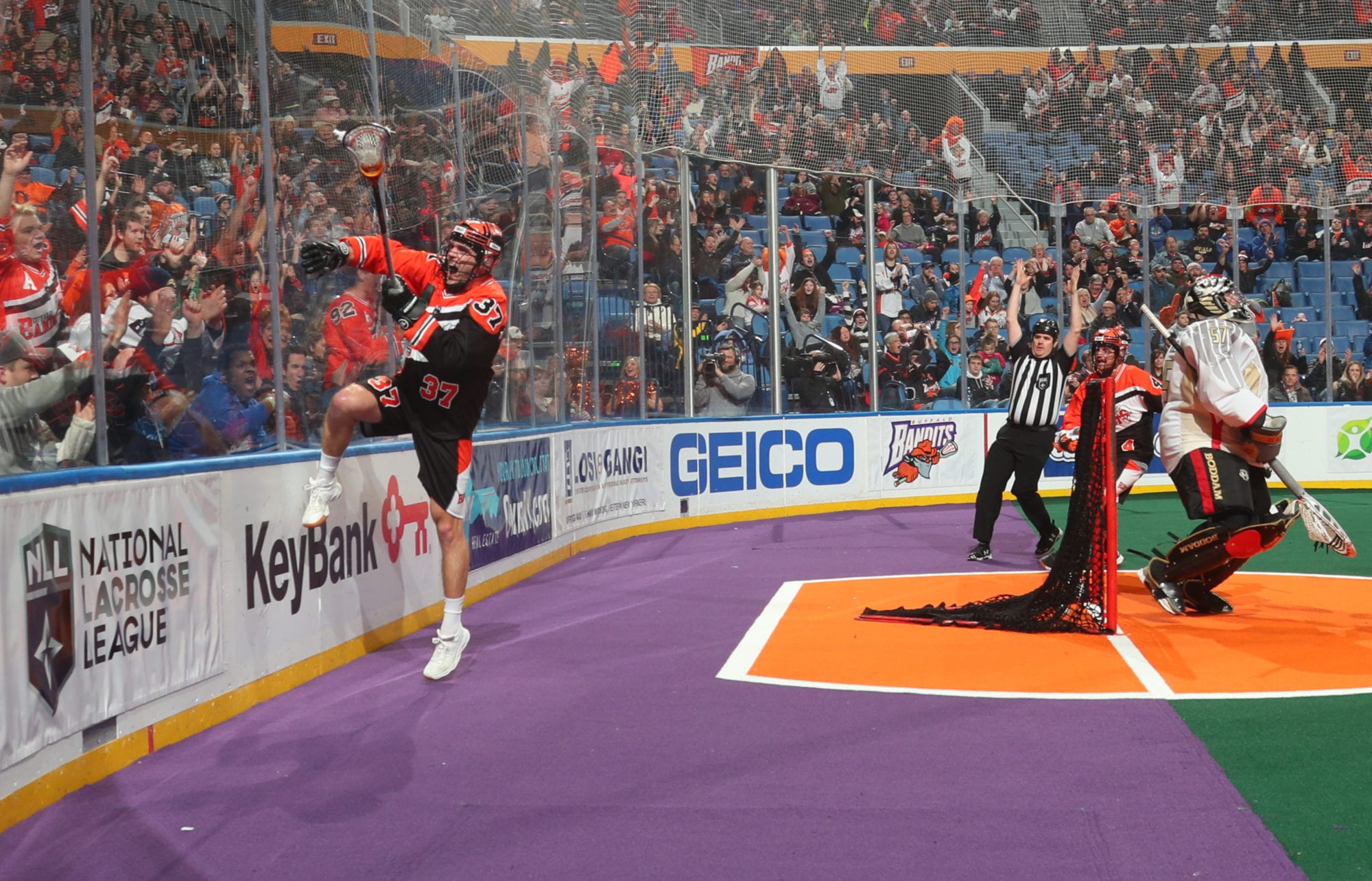 buffalo bandits philadelphia wings nll national lacrosse league