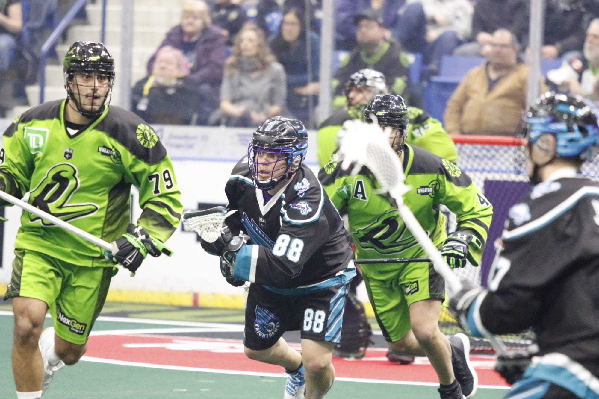 rochester knighthawks nll national lacrosse league