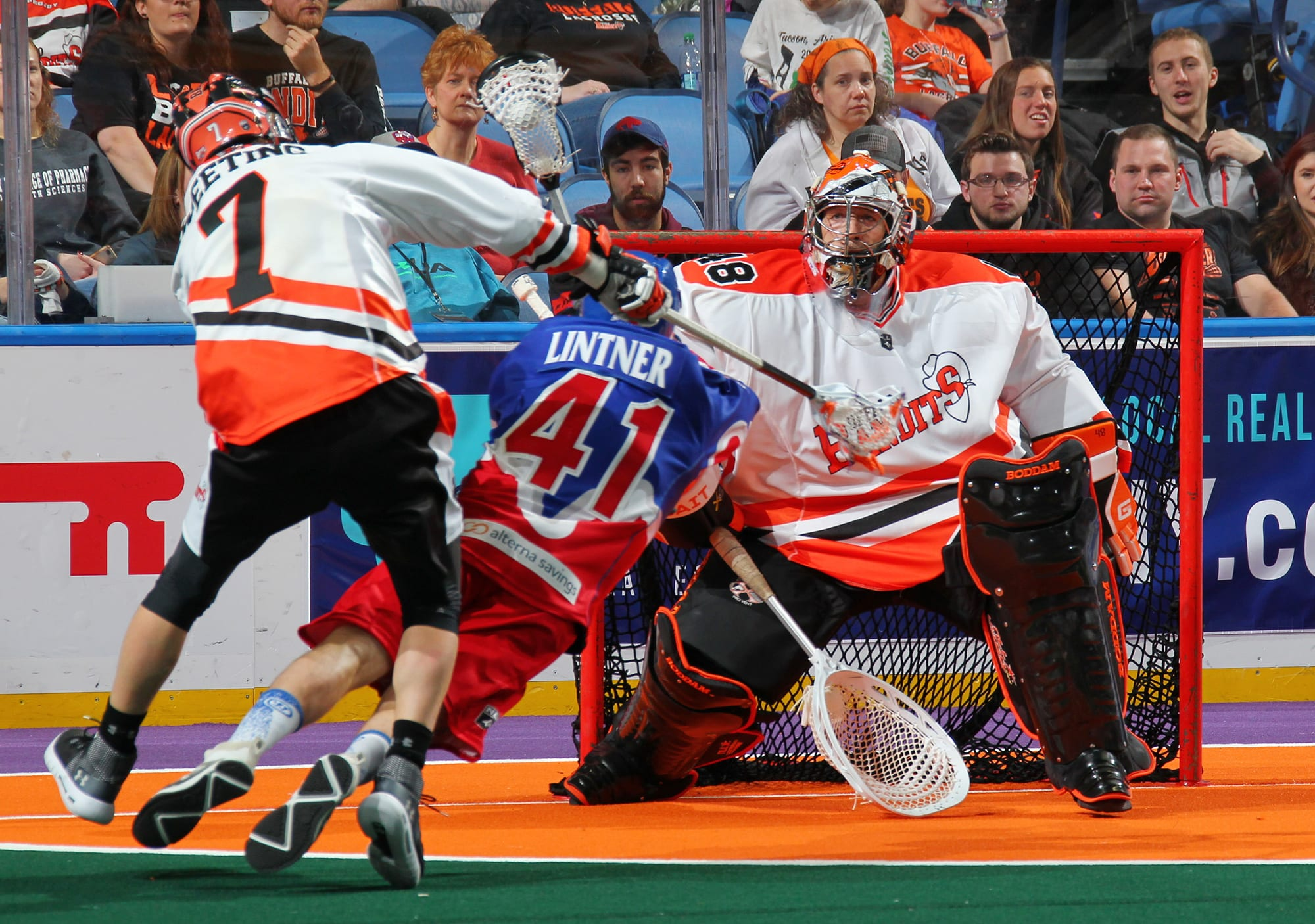 matt vinc buffalo bandits toronto rock nll national lacrosse league twitter reactions war on the floor