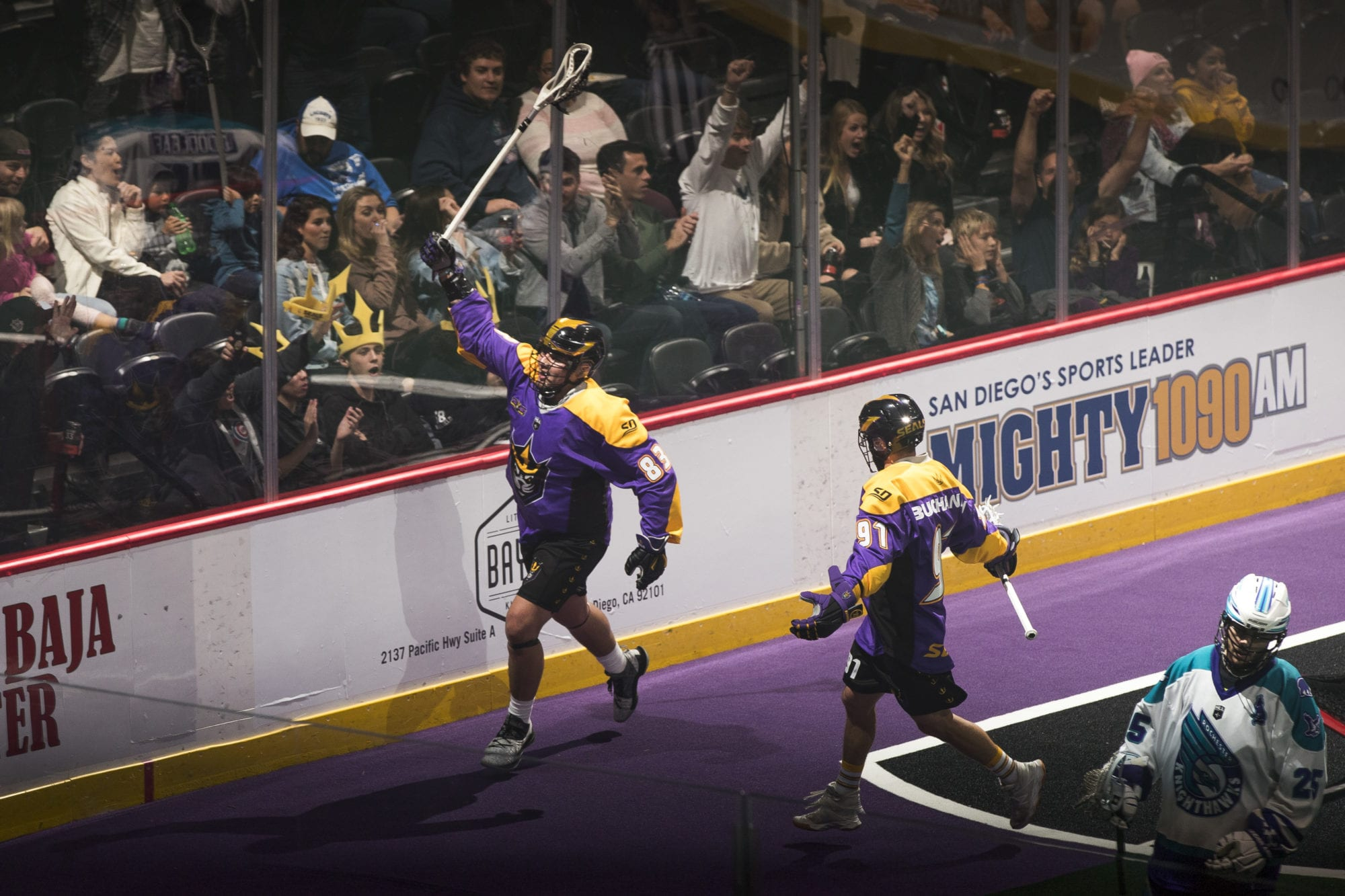 nll national lacrosse league san diego seals winners and losers