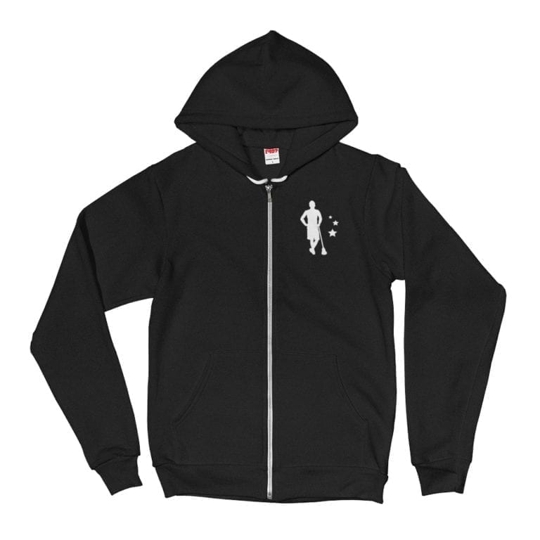 shopping sunday zip hoodie
