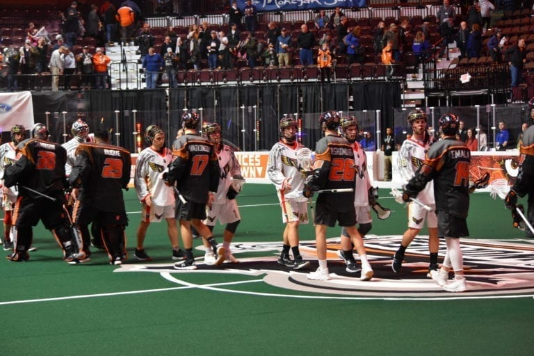 rivalry weekend new england black wolves philadelphia wings