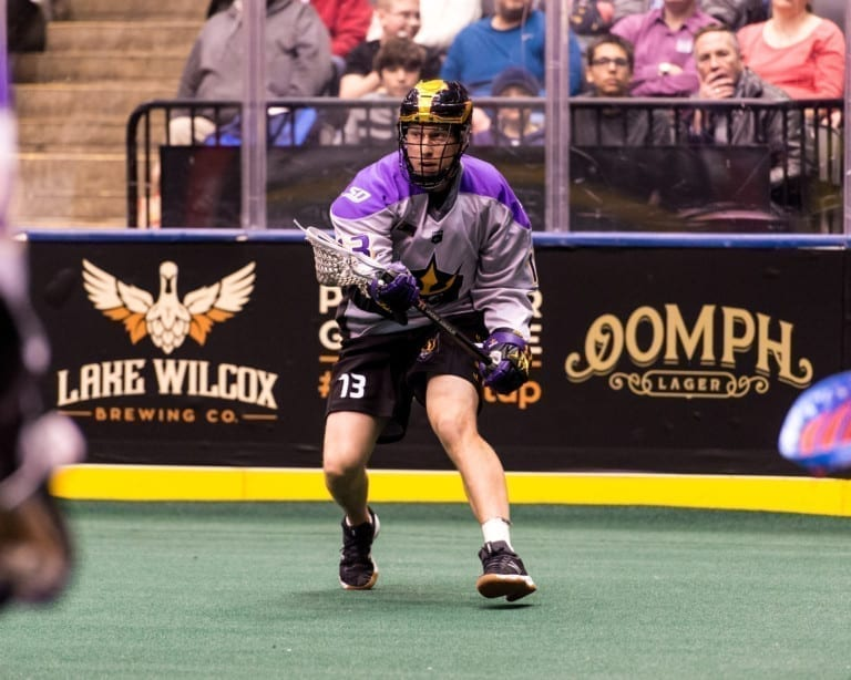 Garrett Billings San Diego Seals NLL National Lacrosse League