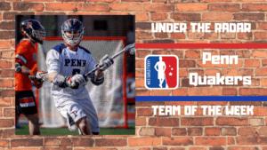 pennsylvania men's lacrosse penn quakers under the radar ivy league