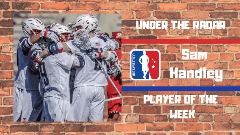 sam handley penn lacrosse under the radar
