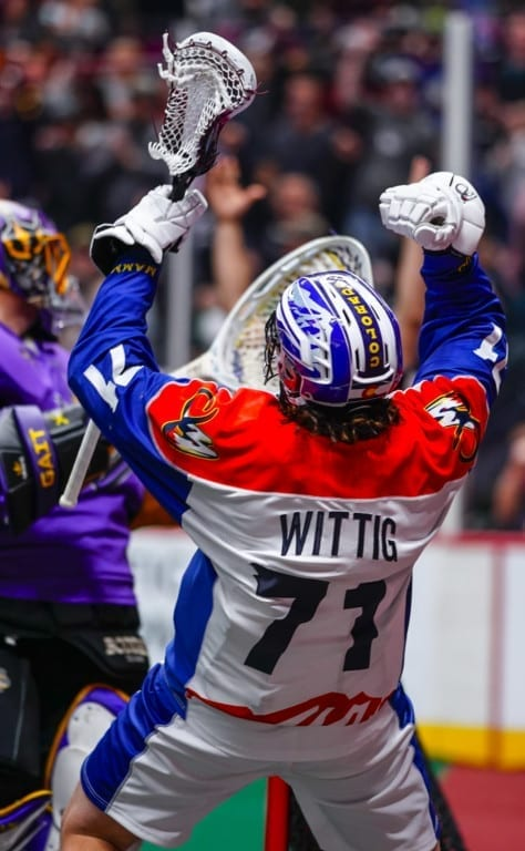 jeff wittig colorado mammoth nll national lacrosse league
