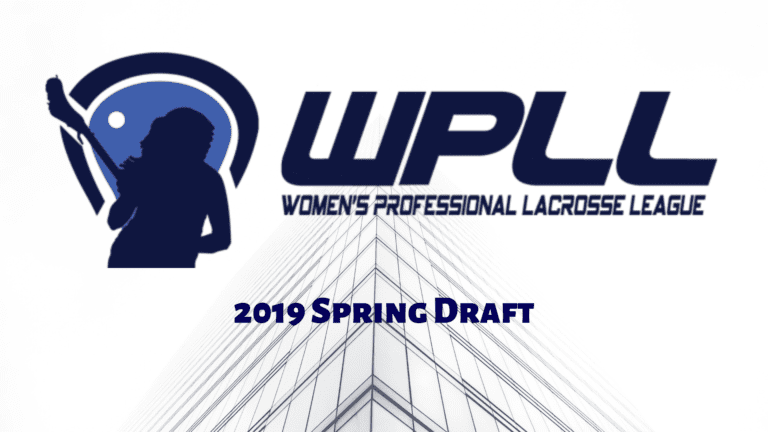 wpll 2019 spring draft wpll women's lacrosse