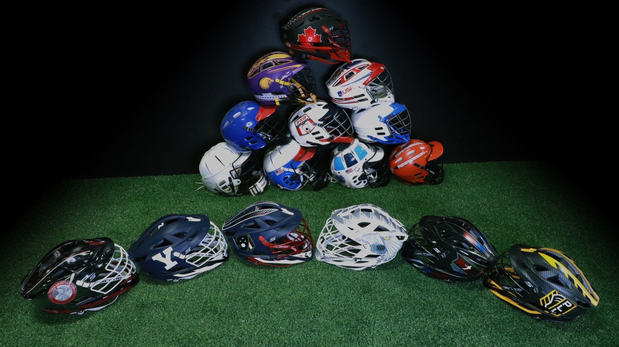 Cascade helmets lineage history