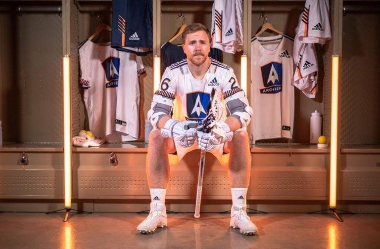 pll archers adidas lacrosse uniforms