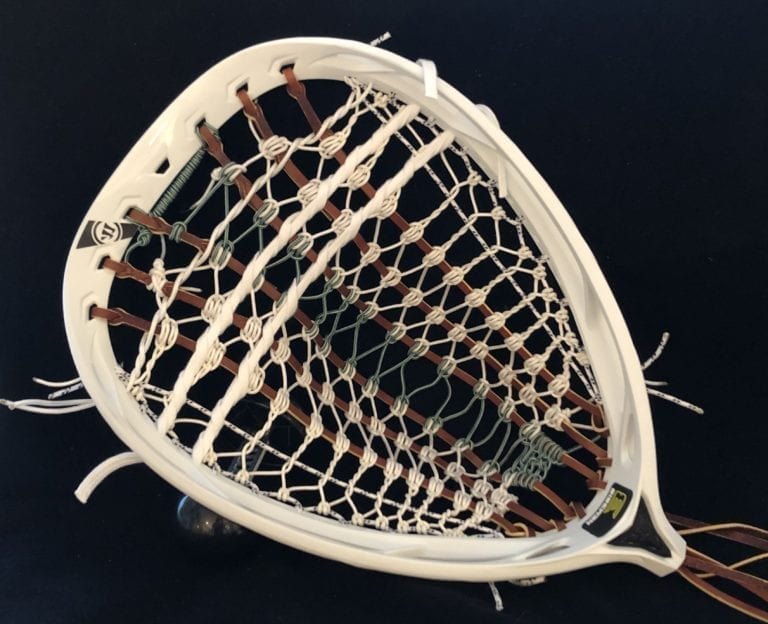 space commander lacrosse goalie stick #thegopherproject