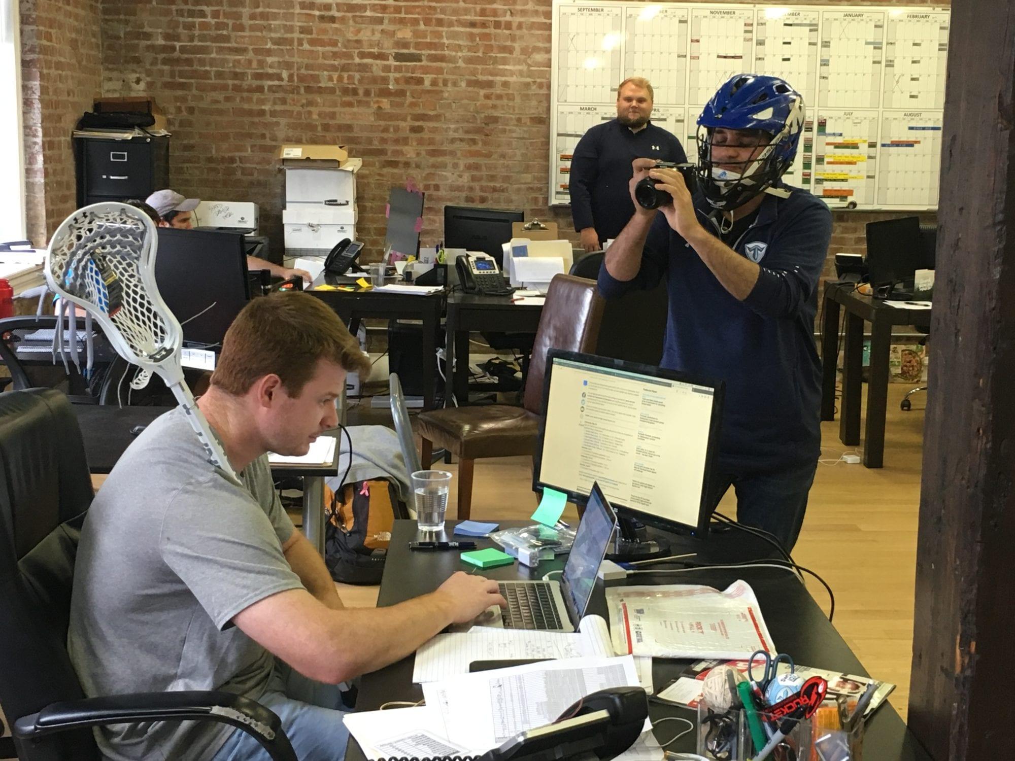trilogy lacrosse digital content creator lacrosse journey