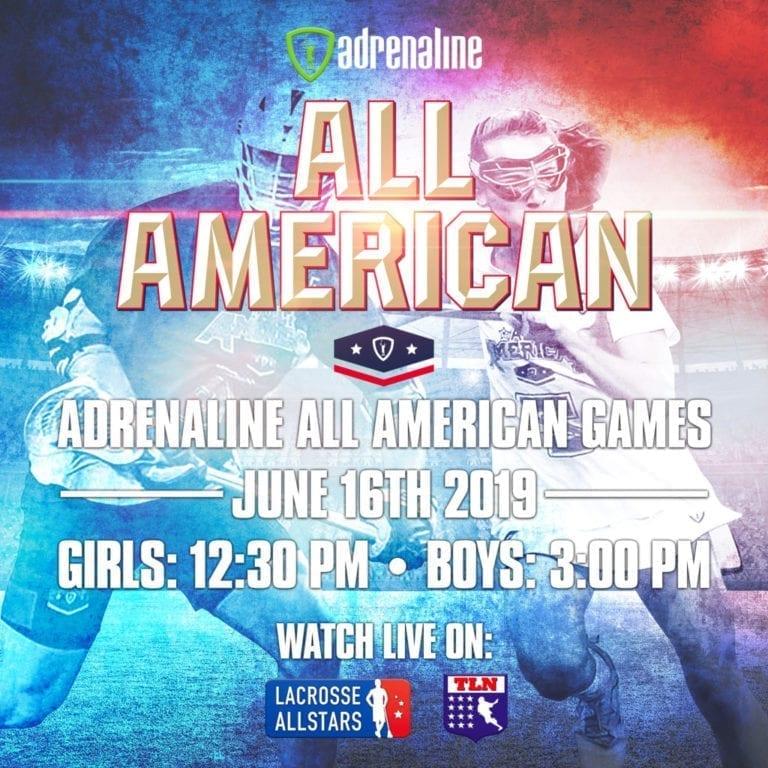 adrenaline all american games lacrosse