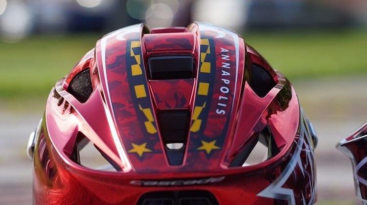 2019 mll all-star helmets