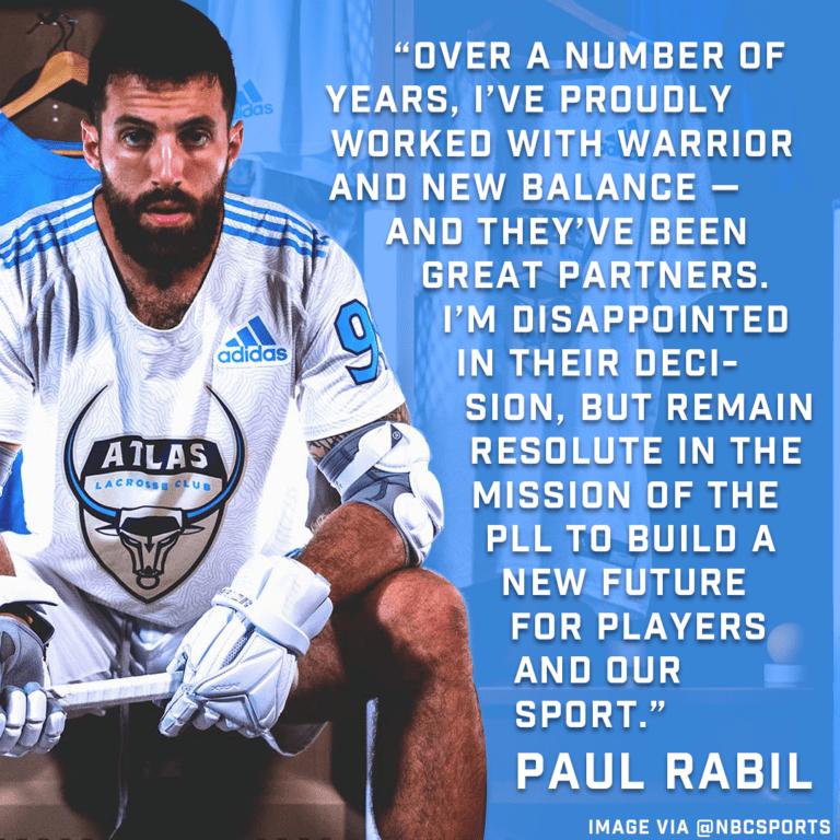 paul rabil's new balance pll