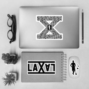 LAS X Decal Set