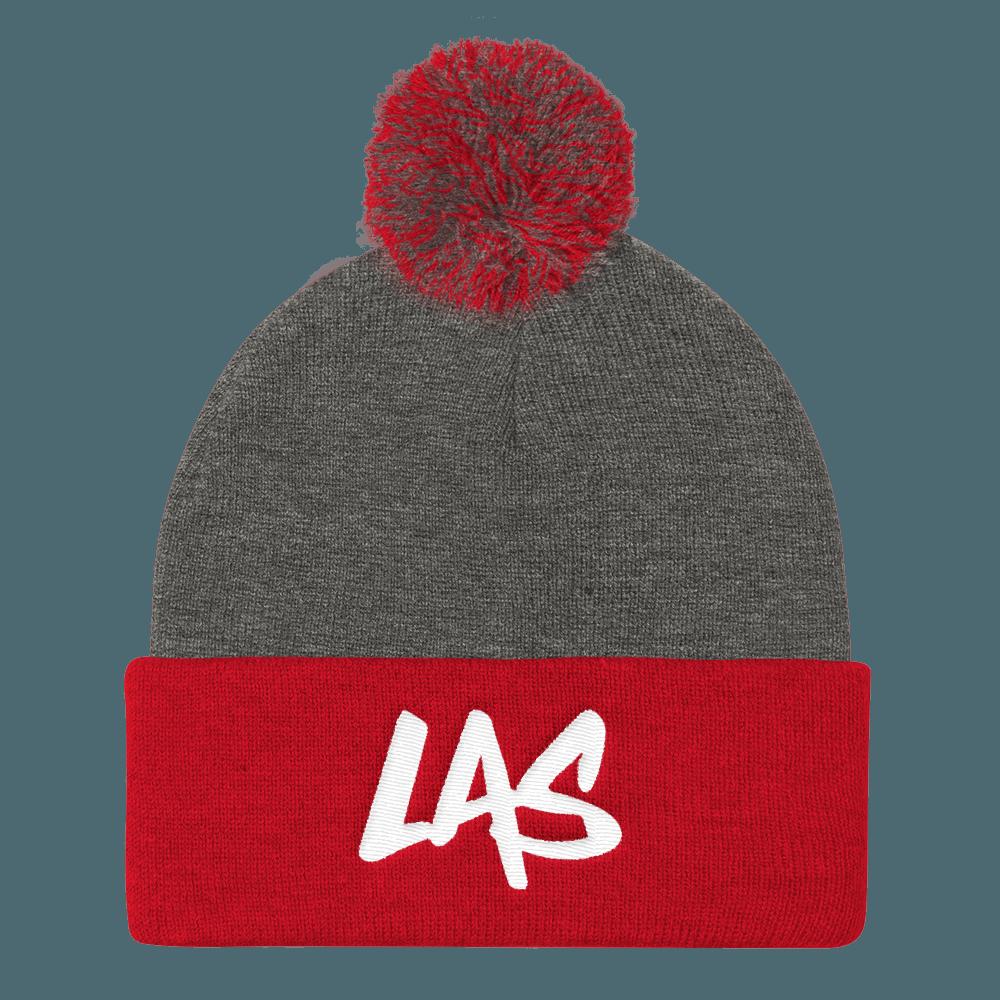 LaxAllStars Pom Pom Knit Beanies