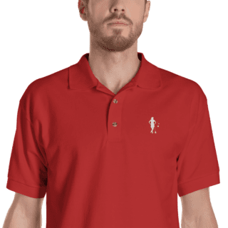 Lacrosse All Stars Men's Logo Polo Shirt