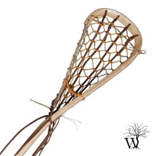 Field Wood Lacrosse Stick with Rawhide Gutwall