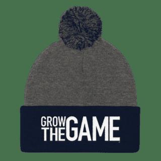Grow The Game® Pom Pom Knit Beanies