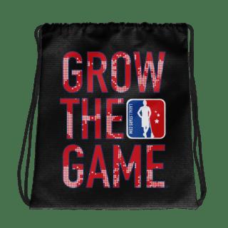 Grow The Game Drawstring Bag