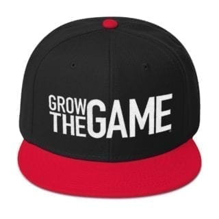 Grow The Game Snapback Hat