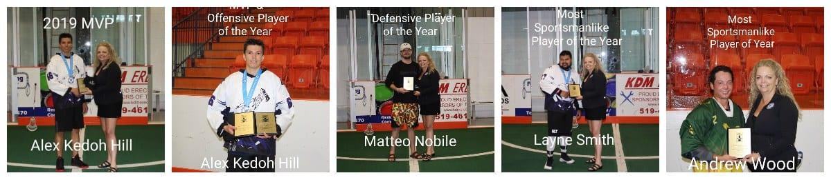 mvp winners six nations tomahawks senior series lacrosse