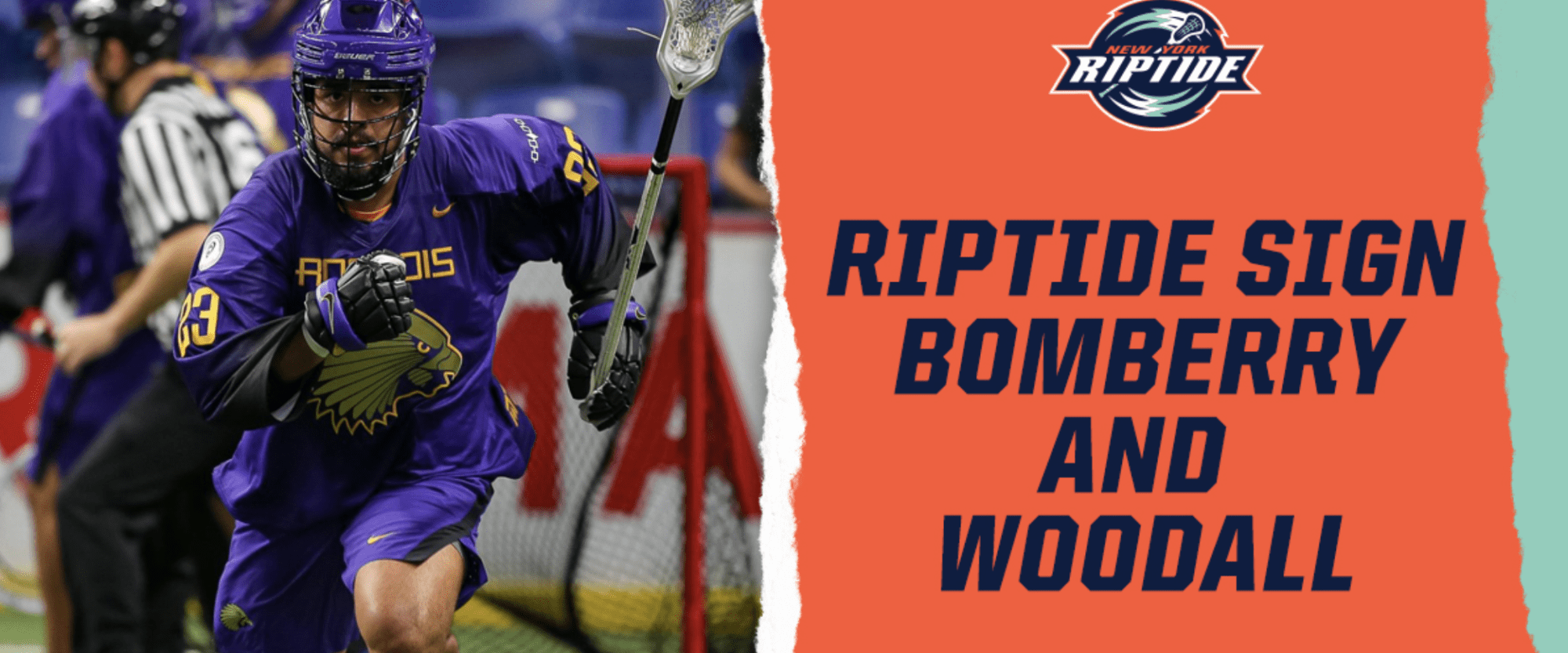 tyson bomberry nll national lacrosse league new york riptide