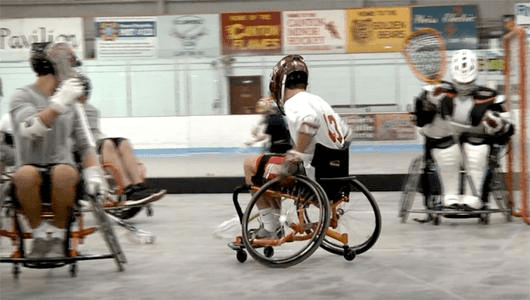 Wheelchair Lacrosse Offers Team Sport For Disabled Athletes