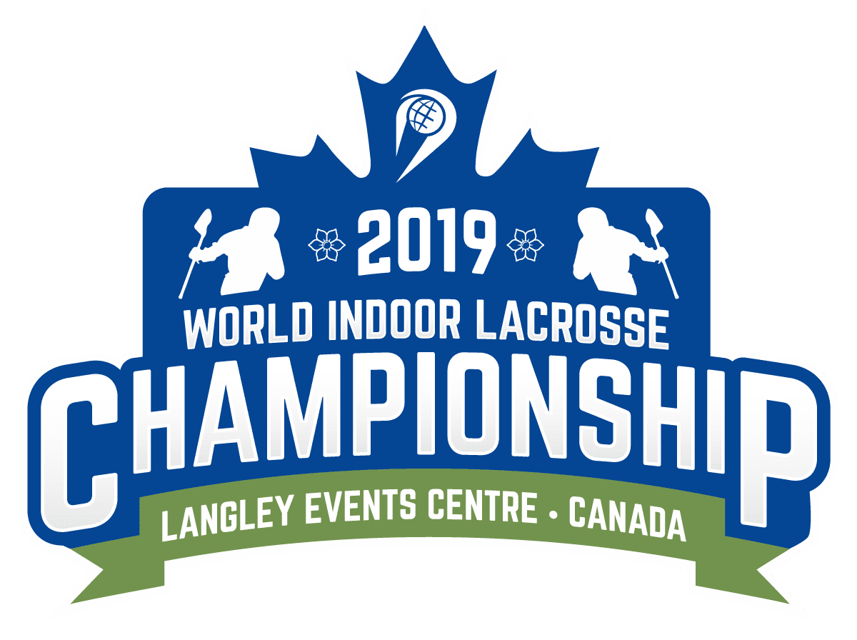 world indoor lacrosse championship 2019 logo