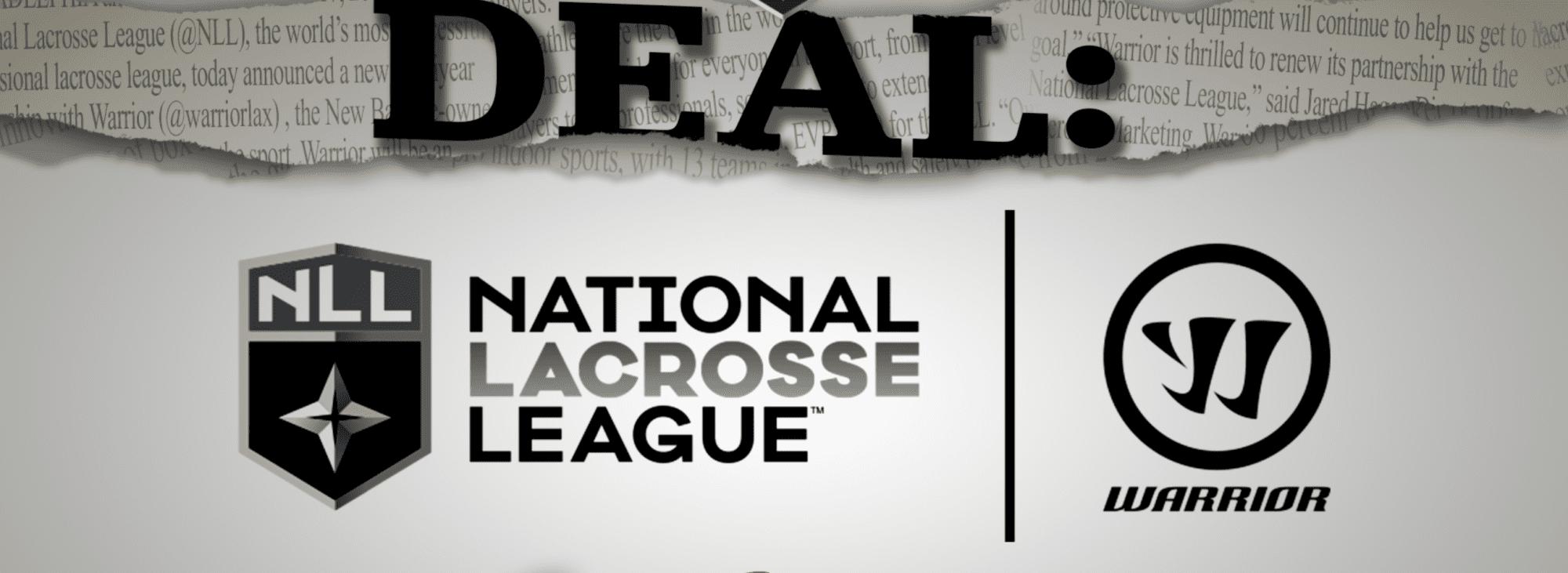 nll national lacrosse league warrior lacrosse new balance