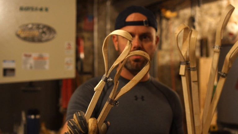 choctaw stickball sticks justin skaggs wood lacrosse sticks