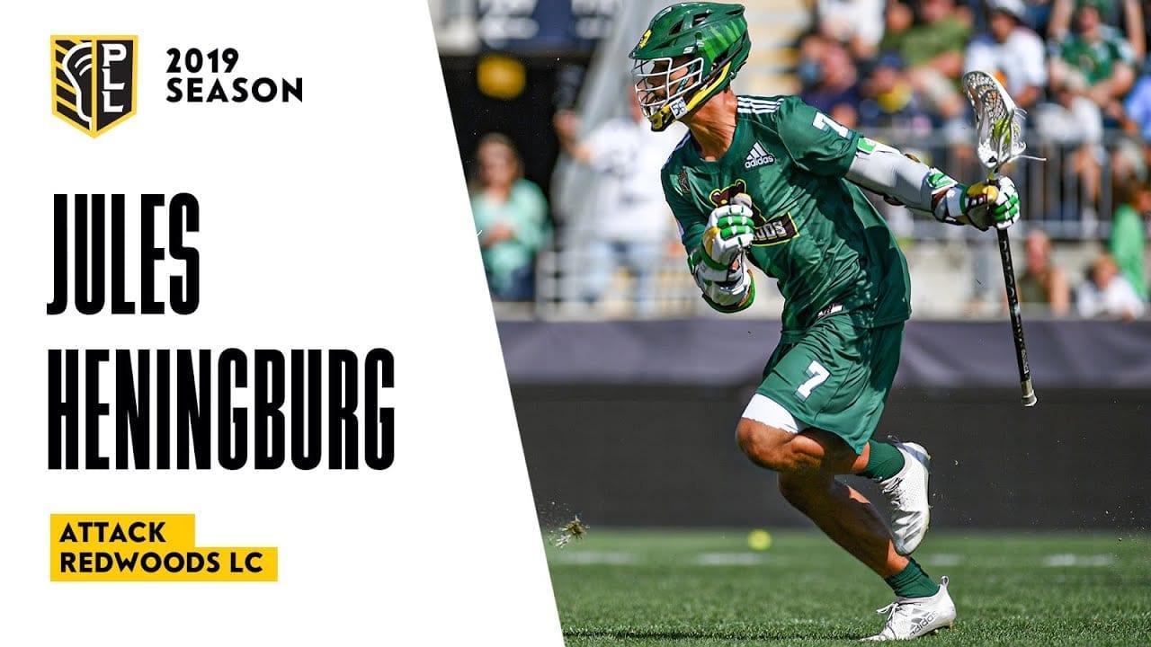 jules heningburg 2019 highlights pll premier lacrosse league
