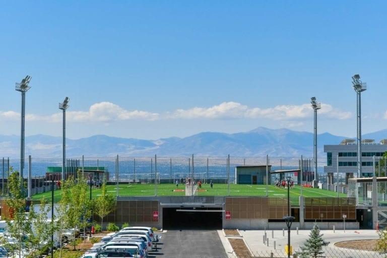 university of utah central garage field