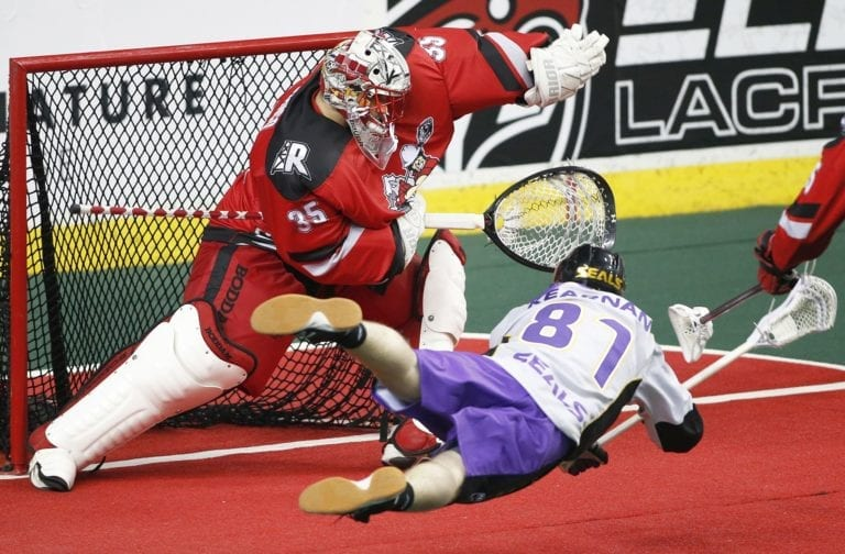 San Diego Seals calgary roughnecks nll national lacrosse league pro lacrosse box lacrosse
