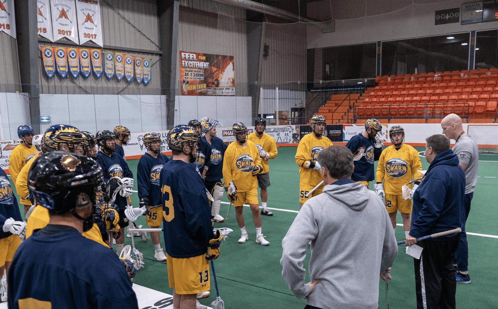 georgia swarm nll national lacrosse league pro lacrosse box lacrosse