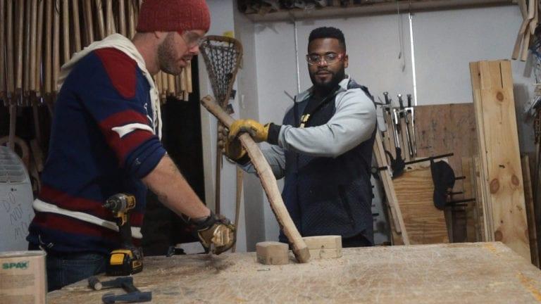 matt rambo trevor baptiste woodshop series