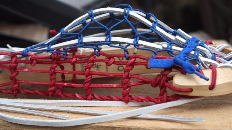 wls color series us lacrosse philadelphia wings justin skaggs wood lacrosse sticks
