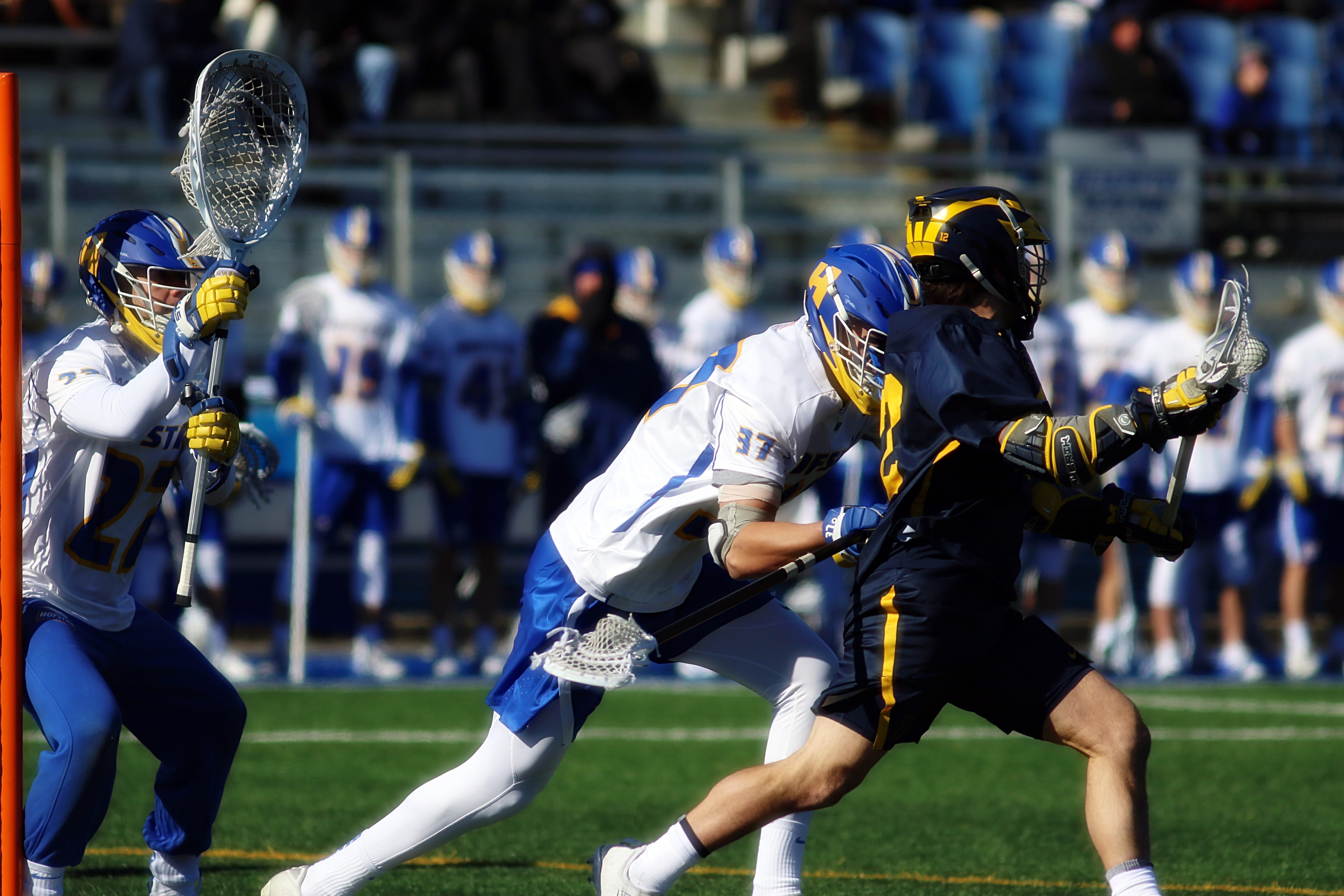 hofstra university university of michigan lacrosse ncaa d1 college lacrosse photo jeff melnik