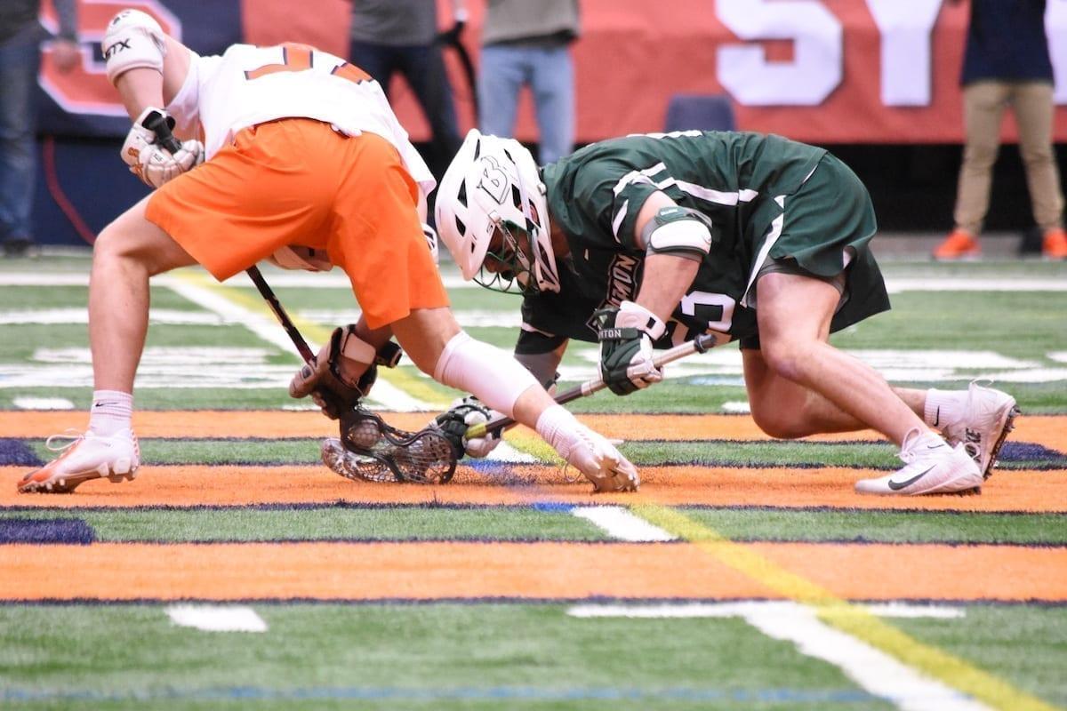 syracuse orange binghamton bearcats ncaa lacrosse college lacrosse division 1 photo