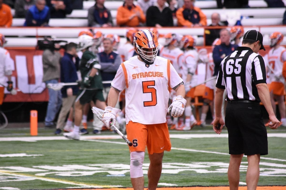 syracuse orange binghamton bearcats ncaa lacrosse college lacrosse division 1 photo