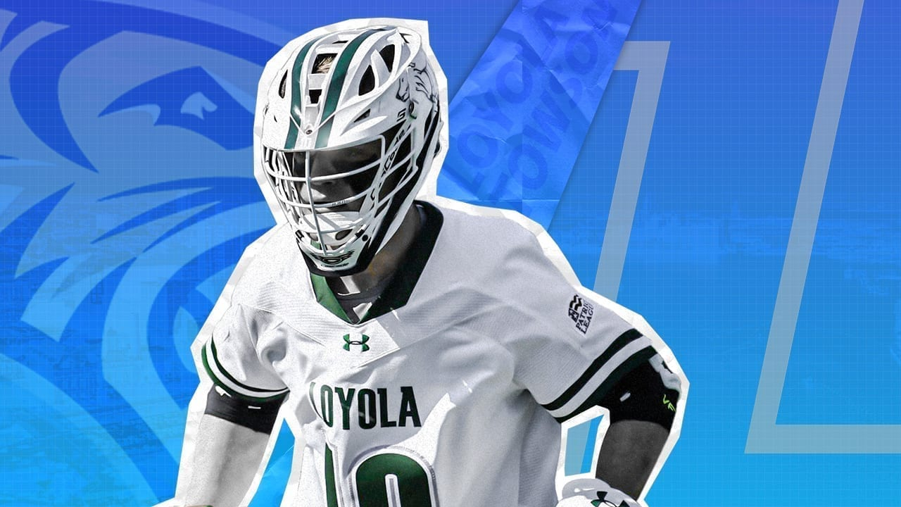 loyola towson lacrosse game of the day 2020 ncaa d1 college lacrosse